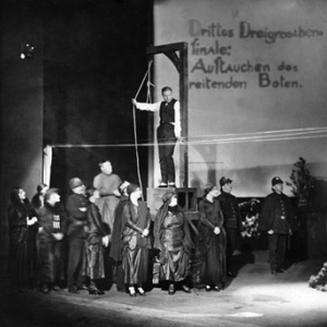 """A production of """"The Threepenny Opera"""" by Bertolt Brecht produced by Theatre am Schiffbauerdamm, Berlin"""
