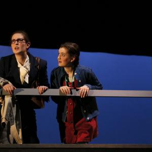 Rebekah Patti as Trudi in 'Brooklyn Bridge' by Melissa James Gibson at Seattle Children's Theatre (2016). Photo: Chris Bennion