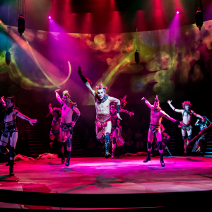 Pictured: Guthrie Theater's production of A Midsummer Night's Dream with lighting design by Frank Butler (MFA '85). Photo by Dan Norman.