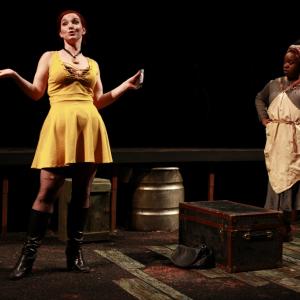 Tatiana Pavela as Canary Mary and Bria Henderson as Hester Smith