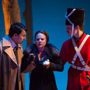 Lenne Klingaman as Hamlet