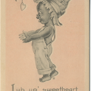 Image of an early twentieth-century Valentine (from the collection of Harvey Young, used with permission)