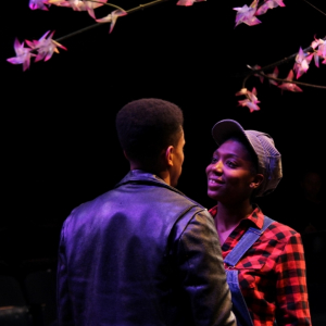 Porscha Shaw and Allen Miller in As You Like It. Photo by Isabel Le.
