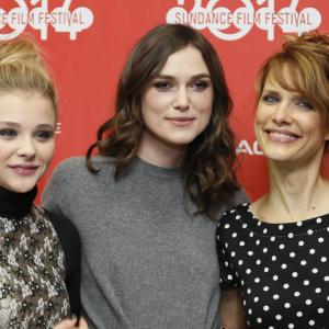 Chloë Grace Moretz, Keira Knightley, and Lynn Shelton