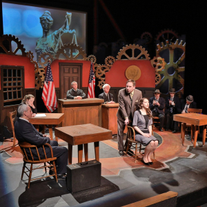 """A production of """"Machinal"""" by Boardmore Theatre"""