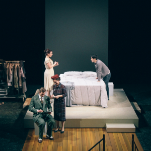 Set design by Alex Winterle. Lighting Design by Amber Parker. Photo by Isabel Le