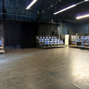 Interior panorama of Studio 218