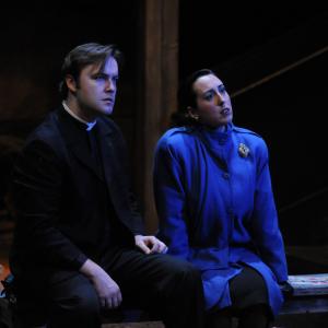 Christopher Donoghue as Fr Petr Karolyi in 'Pentecost' (2013). Photo: Frank Rosenstein