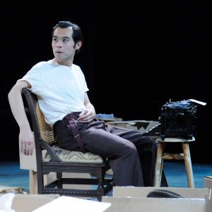 Joseph Ngo as Joe in 'The Long Goodbye' (2013). Photo: Frank Rosenstein
