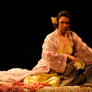 Sunam Ellis as Bertha in 'Hello from Bertha' (2013). Photo: Frank Rosenstein