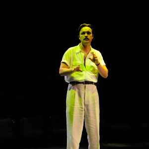 Christopher Donoghue as Shannon in a monologue from 'The Night of the Iguana' (2013). Photo: Frank Rosenstein