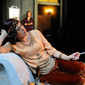 Anna Lamadrid as Lily in 'Why Do You Smoke So Much, Lily?' (2013). Photo: Frank Rosenstein