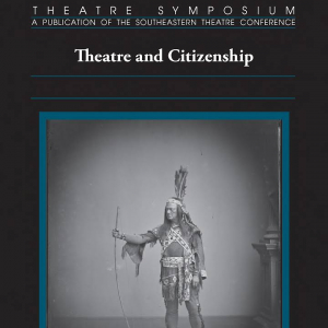 """Book cover of """"Theatre and Citizenship"""""""