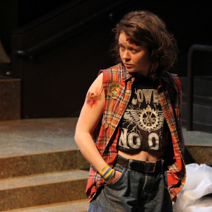 Jessica Thorne in Trojan Women: A Love Story \ Photo by Isabel Le