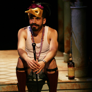 Moises Castro as Toby Belch in 'Twelfth Night' (2015). Photo: Mike Hipple