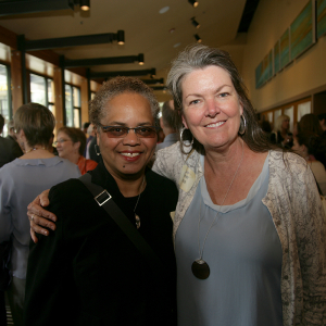 Valerie Curtis-Newton and Melanie Burgess