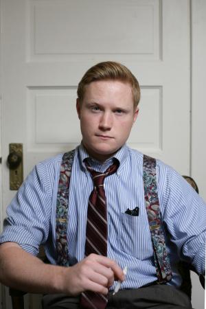 "Tim Moore as Jack in Howard Korder's ""Boys' Life."" Photo by Mike Hipple."
