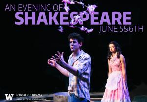 An evening of shakespeare