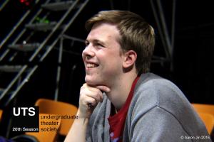 Anders Peterson in rehearsal for DEBATE