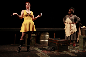 Tatiana Pavela as Canary Mary and Bria Henderson as Hester Smith