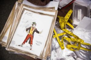 Costume designs for Oliver!