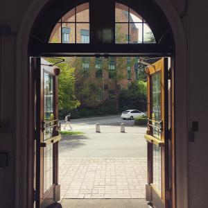 Hutch Open Doors