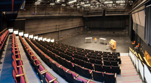 Interior panorama of Meany Studio Theater
