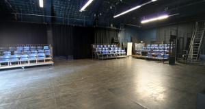 Interior panorama of Studio 218