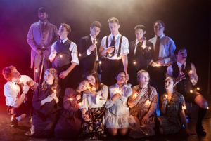 Cast of Spring Awakening. Photo by Eli Gallagher.