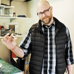 Matthew Smucker. Photo by Kelly O. Lettering by Mike Force.