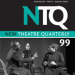New Theatre Quarterly, 2009, cover image