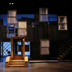 """Brooklyn Bridge"" set designed by Matthew Smucker (MFA '02)."