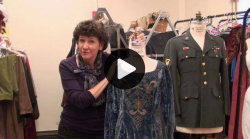Vimeo link to UW School of Drama Costume Shop Donations