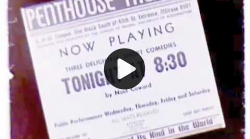 YouTube link to University of Washington Penthouse Theatre, ca. 1956