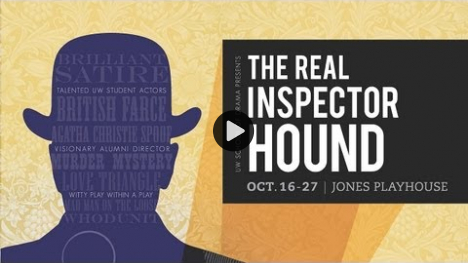 YouTube link to The Real Inspector Hound - Spotlight: Comedic Acting