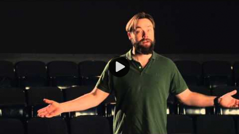 YouTube link to Christopher Donoghue as Coriolanus