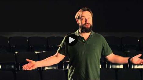 YouTube link to Christopher Donoghue as Coriolanus